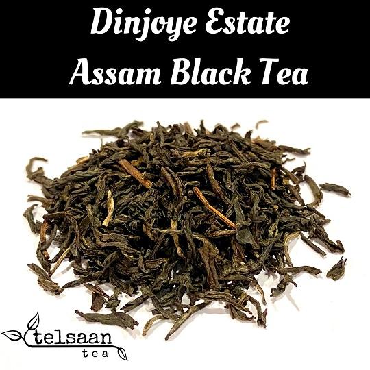 Telsaan Assam Dinjoye Estate Second Flush Indian Loose Leaf Black Tea