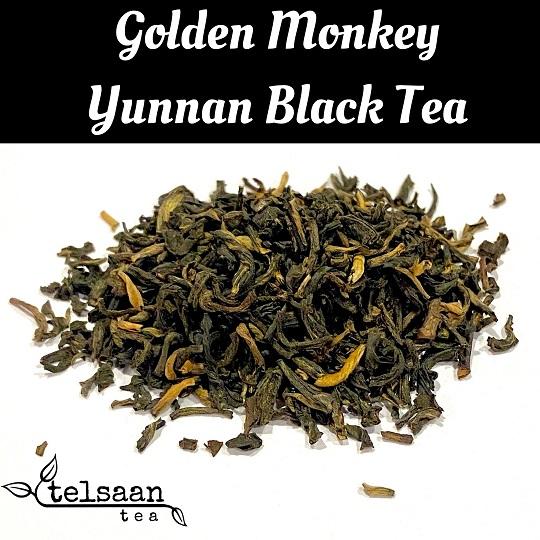 Telsaan Golden Monkey Yunnan Loose Leaf Black Tea