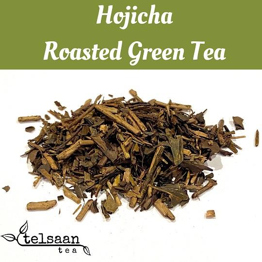 Telsaan Hojicha Roasted Japanese Loose Leaf Green Tea