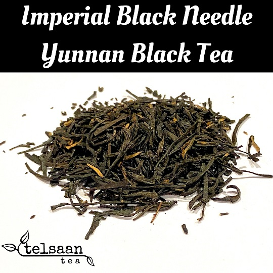 Telsaan Chinese Imperial Black Needle Yunnan Loose Leaf Black Tea