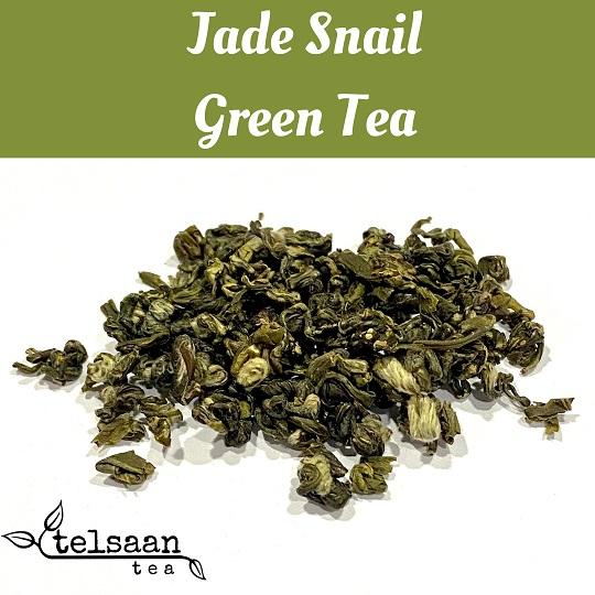 Telsaan Chinese Jade Snail Loose Leaf Green Tea