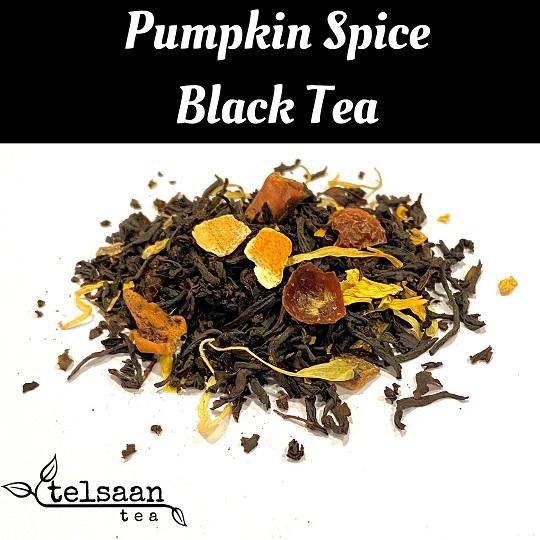 Telsaan Pumpkin Spice Loose Leaf Black Tea