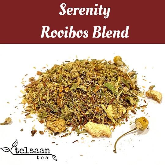Telsaan Tea Caffeine Free Loose Leaf Rooibos Serenity Blend